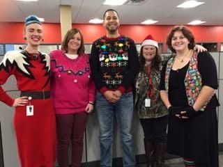 Christmas Creative Sweater Contest 2