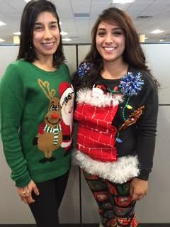 Christmas Creative Sweater contest 1